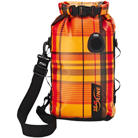 SealLine Discovery Kuivapussi 10l, orange plaid